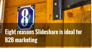 slideshare b2b marketing